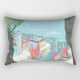 1920 Riva Del Garda Rectangular Pillow