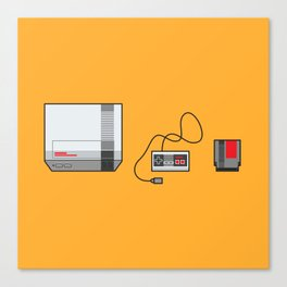 #38 Nintendo Entertainment System Canvas Print