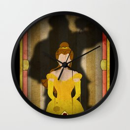 Shadow Collection, Series 1 - Rose Wall Clock