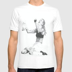 Brandi Chastain Mens Fitted Tee White X-LARGE