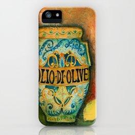 Tuscan Majolica Olio iPhone Case