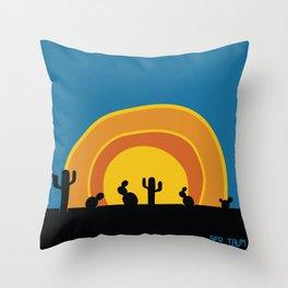 Poente Throw Pillow
