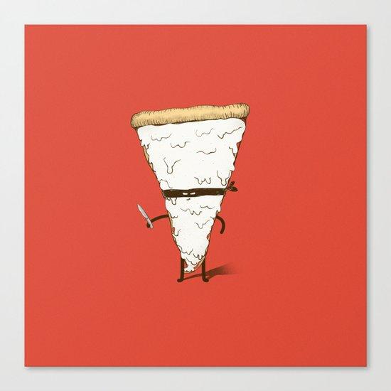 Slice! Canvas Print