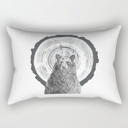 Ring Bearer -Black Rectangular Pillow