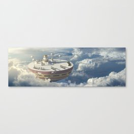 DragonBall Photoreal Series: Holy Palace Canvas Print