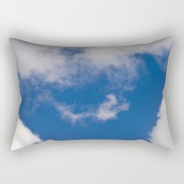 BLUE SKY over BERLIN Rectangular Pillow