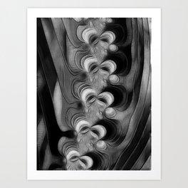 Vertibrae Art Print
