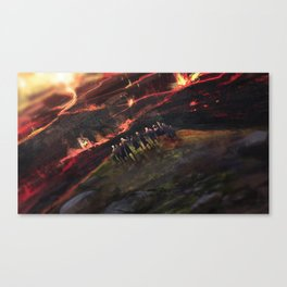 The last tribe Canvas Print