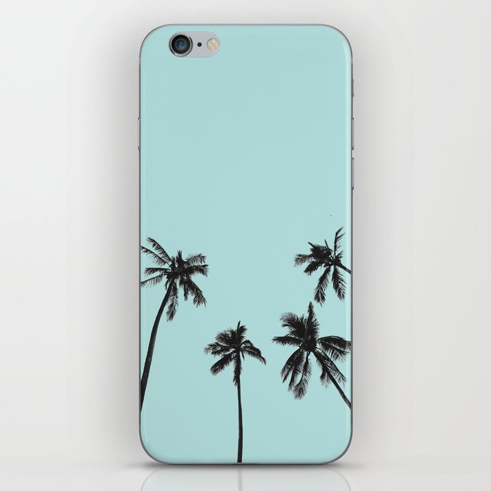 Palm trees 5 iPhone Skin