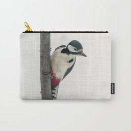 Knock, knock. Who's There? Woodpecker! Carry-All Pouch