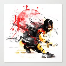 Ninja Japan Canvas Print