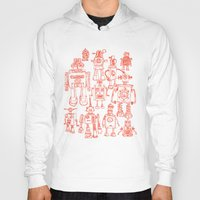 robots Hoodies featuring Robots! by Paul McCreery