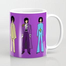 Outfits of Purple Fashion on Purple Coffee Mug