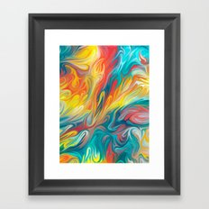 Abstract Colors II Framed Art Print