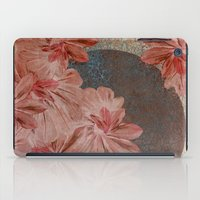 leah flores iPad Cases featuring Flores by MACACOSS