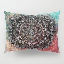 Higher Cosmic Vibrations Mandala Pillow Sham