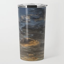 CLOUDS AT THE SUNSET Travel Mug