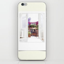 Polaroid moments iPhone Skin