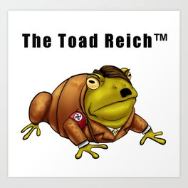 The Toad Reich Art Print