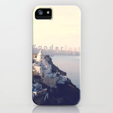 Wanderlust (Santorini) iPhone (5, 5s) Slim Case