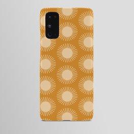 Golden Sun Pattern II Android Case