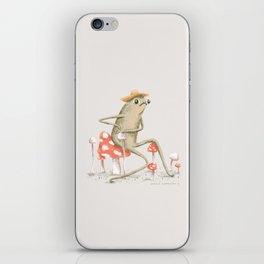 Awkward Toad iPhone Skin