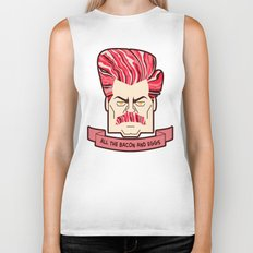 All Your Bacon & Eggs Biker Tank