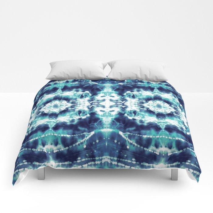 Celestial Nouveau Tie-Dye Comforters
