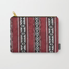 Red Arabian Pattern Carry-All Pouch
