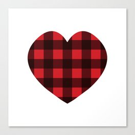 Lumberjack Love Canvas Print