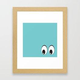 Eyes on You! Framed Art Print
