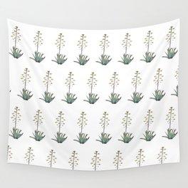 Flora mosaic Wall Tapestry