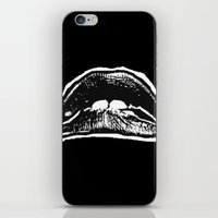 rocky horror iPhone & iPod Skins featuring LIPS (Rocky Horror Picture Show) by Blake Lee Ferguson
