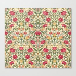 "William Morris ""Rose"" Canvas Print"
