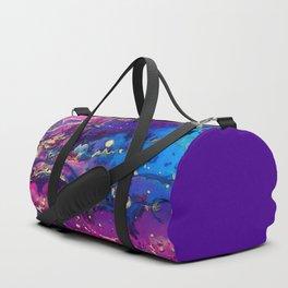 Resin Abstract Acrylic Pour Duffle Bag