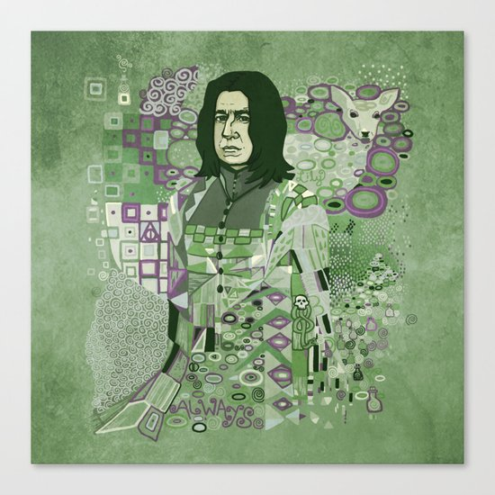 Portrait of a Potions Master Canvas Print
