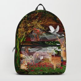 Where The Wild Roses Grow. Backpack