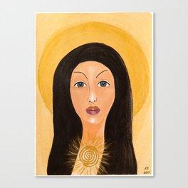 Goddess no 15 Canvas Print