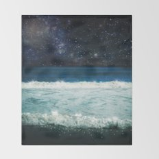 The Sound and the Silence Throw Blanket