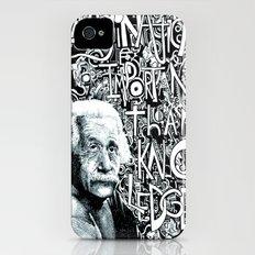 Einstein.  iPhone (4, 4s) Slim Case