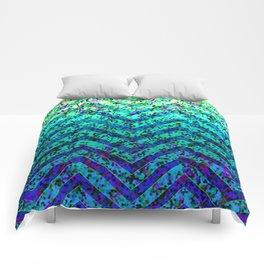 Zig Zag Sparkley Texture G230 Comforters