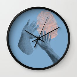 searching for identity Wall Clock