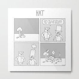 Moonbeard - HAT Metal Print