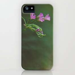 Lonely Flowers 01 iPhone Case