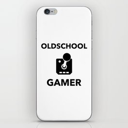 Oldscool Gamer Joystick iPhone Skin