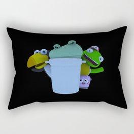 Trash Can! (B) Rectangular Pillow