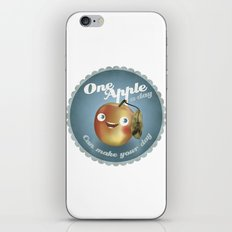 One Apple A Day iPhone & iPod Skin
