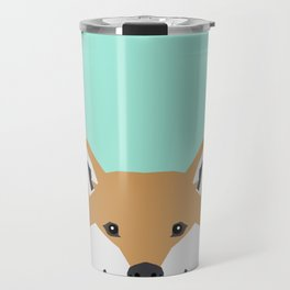 Cassidy - Shiba Inu gifts for dog lovers and cute Shiba Inu phone case for Shiba Inu owner gifts Travel Mug