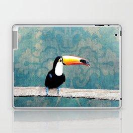 toucano tropical blue Laptop & iPad Skin
