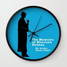 The Memoirs of Sherlock Holmes Wall Clock